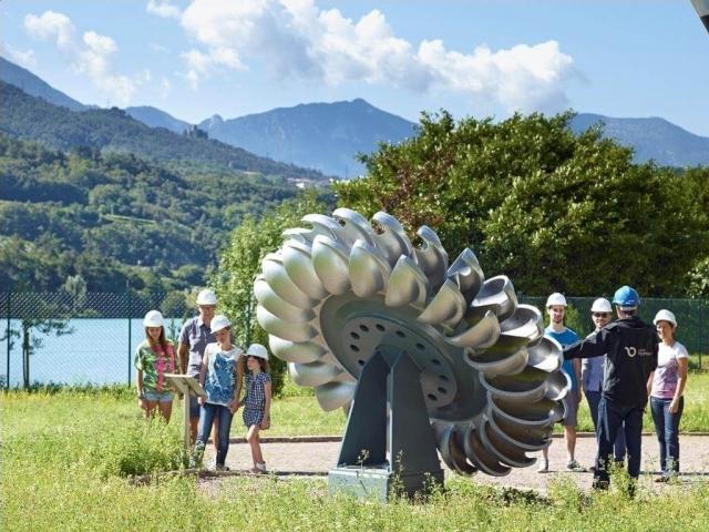 Turbina Pelton - Centrale idroelettrica di Santa Massenza