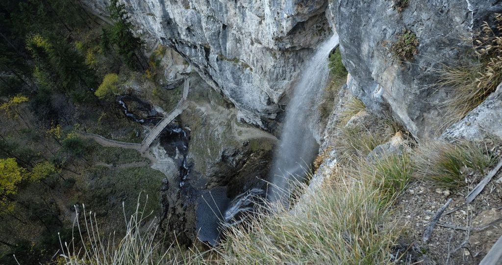 Cascata di Tret dall'alto (Ph. Mirko Ropelato)
