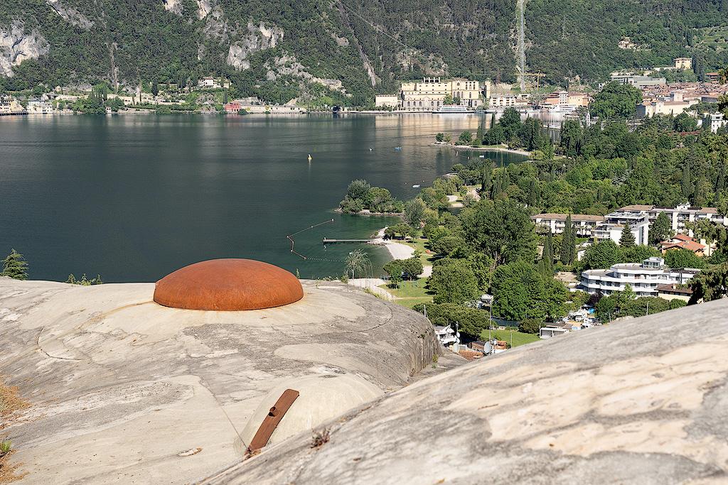 Forte Garda sul Monte Brione (Ph. Mirko Ropelato)