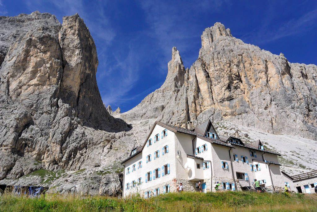 Dormire in rifugio - Rifugio Vajolet, Val di Fassa